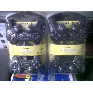 gamepad USB 2 hitam