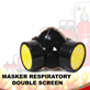 Masker Respiratory Double Screen