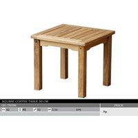 Sell Square Coffee Table 50 Cm