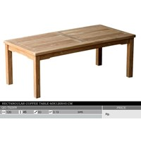 Sell Rectangular Coffee  Table 60X120X45 Cm
