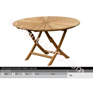 Export Matahari Folding Table 120 Cm Indonesia