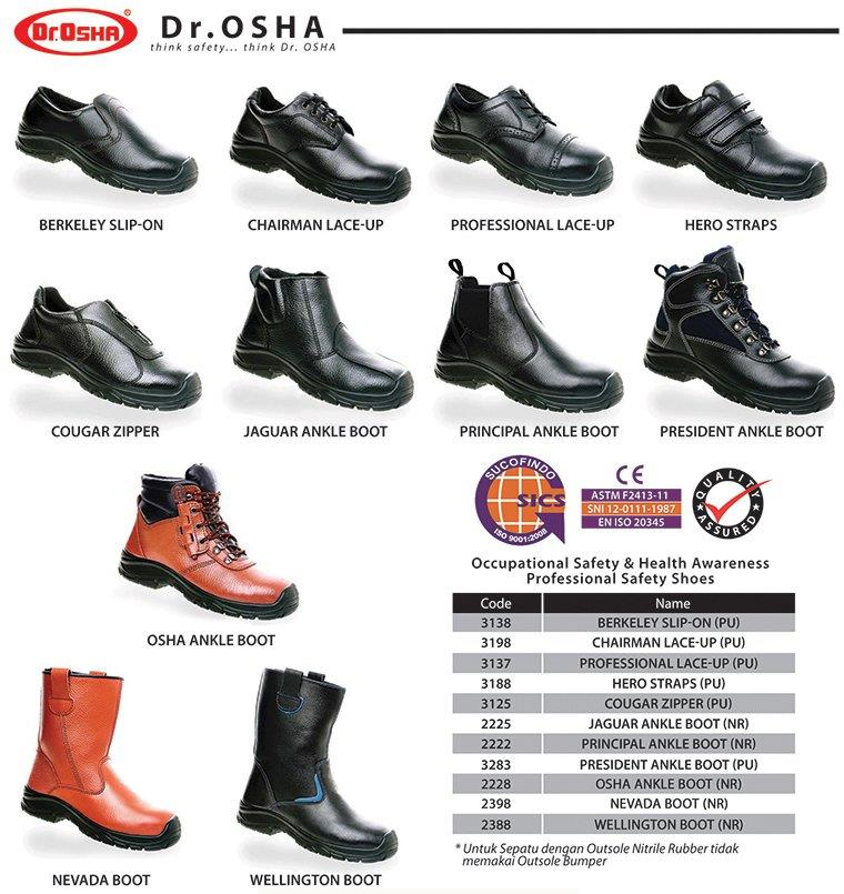 8e6bf046967 Sell Drosha Safety Shoes from Indonesia by PT. Sinar Multi ...
