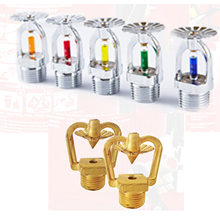 PENYEMPROT AIR ZID FIRE SPRINKLER