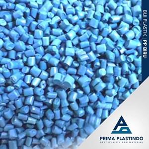 Dari Biji Plastik Polypropylene (Pp) Daur Ulang Biru 0