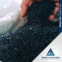 Biji Plastik Abs (Acrylonitrile Butadiene Styrene) Daur Ulang Hitam