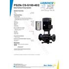 Pompa Surface Lorentz Ps25k Cs-G100-40-2 4