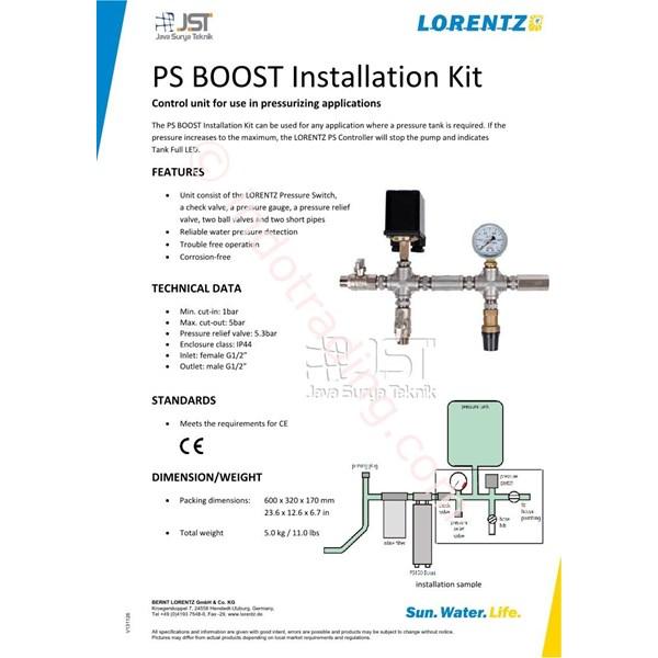 Ps Boost Installation Kit Lorentz