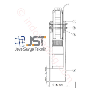 Stilling Tube For C Pump Lorentz
