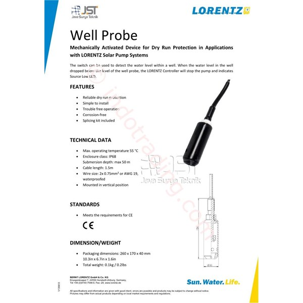 Well Probe Lorentz