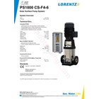 Pompa Surface Lorentz Ps1800 Cs-F4-6 4