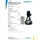 Pompa Surface Lorentz Ps1800 Cs-F12-2 4