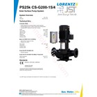 Pompa Surface Lorentz Ps25k Cs-G200-15-4 4