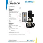 Pompa Surface Lorentz Ps600 Cs-F4-3 4