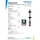 Pompa Submersible Lorentz Ps200 Hr-07 3