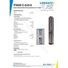 Pompa Submersible Lorentz Ps600 C-Sj5-8 3