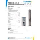 Pompa Submersible Lorentz Ps600 C-Sj8-5 3