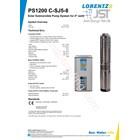 Pompa Submersible Lorentz Ps1200 C-Sj5-8 3