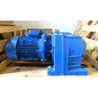 Helical Geared Motor 2HP 52RPM
