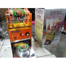 Mesin Cup Sealer Alat Penutup Gelas Plastik