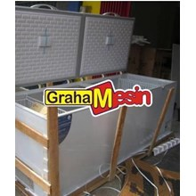 Mesin Chest Freezer Alat Pendingin Bahan Tipe Chest Freezer