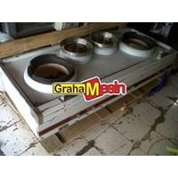 Mesin Gas Kwali Range Tungku Masakan Cina 1