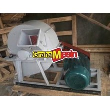 Mesin Wood Crusher Alat Penghancur Kayu