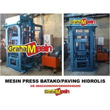 MESIN PRESS BATAKO dan PAVING HIDROLIS