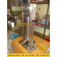 mesin cetak sossis manual saussage filler