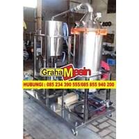 Jual Mesin Pemurnian Minyak Destilasi Atsiri Nilam