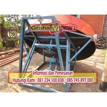 mesin pan granulator mesin pembuat butiran kompos