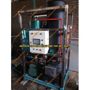 mesin ice tube mesin pembuat es batu kapasitas 1 ton