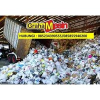 Distributor MESIN PENCACAH PLASTIK MESIN DAUR ULANG SAMPAH PLASTIK 3