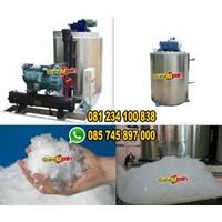 Distributor Mesin Ice Flake Mesin Pembuat Es Batu Bongkahan 3 Ton ice flake maker 3