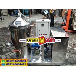 Mesin Evaporator Vacuum Pembuat Serbuk