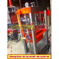 Jual Cetak Press Batako Mesin Cetak Batako Paving manual hidrolis 2