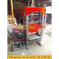 Cetak Press Batako Mesin Cetak Batako Paving manual hidrolis 1