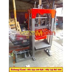 Cetak Press Batako Mesin Cetak Batako Paving manual hidrolis