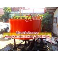 Jual Mesin Mixer Batako Pengaduk Bahan Pembuat Batako 2