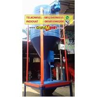 Mesin Pencampur pakan ternak vertical mixer 1 ton 1
