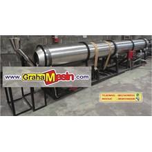 Mesin Pengering Sistem Putar Otomatis Rotary Dryer