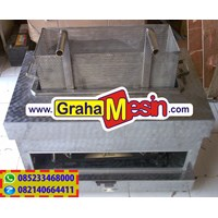 Mesin Gas Deep Fryer Lokal