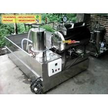 Mesin Vacuum Frying Pembuat Keripik Buah dan Sayur Otomatis