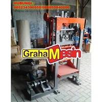 Jual Mesin Cetak Bata / Mesin Paving Manual Vibrator Termurah 2