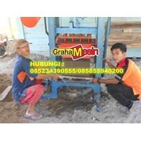 Distributor Mesin Cetak Bata / Mesin Paving Manual Vibrator Termurah 3