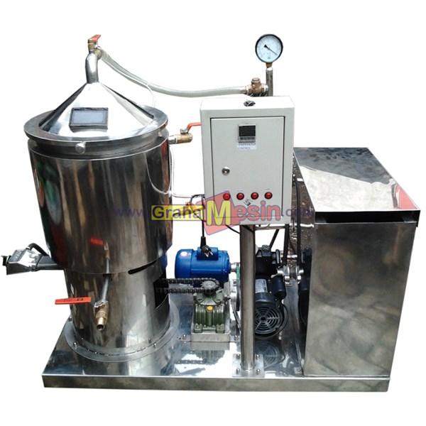 mesin evapurator pengurang kadar air