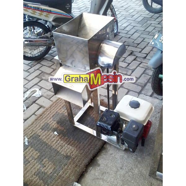 Mesin Pemarut Kelapa Otomatis Lokal