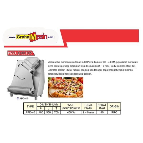 Mesin Pembentuk Adonan Pizza Import