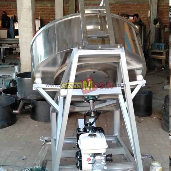Mesin Granulator Pupuk Organik Steinless Lokal