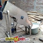 Mesin Ice Block Crusher Stainless Lokal Sederhana 4