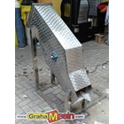Mesin Ice Block Crusher Stainless Lokal Sederhana 3